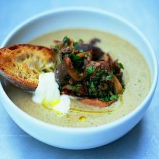 Pravá hríbová polievka