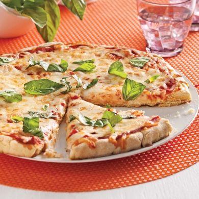 Pizza margarita sans gluten - Recettes - Cuisine et nutrition - Pratico Pratique