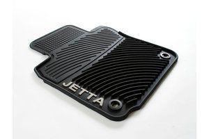 Volkswagen Jetta Monster Mat Rubber Floor Mats (round clip) 2005.5 2006 06 2007 07 2008 08 2009 09 2010
