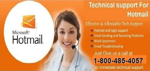 Hotmail Technical Support Number 1 800 485 4057. The users can even get rid of issues such as spam mails, hacking problems and security issues. Hotmail Customer Support Number renders stellar quality expertise to the users over a wide range of technical issues. For more info visit us: http://hotmailsupport.co/.