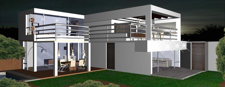 Barandales minimalistas buscar con google mi terraza for Balcones minimalistas fotos