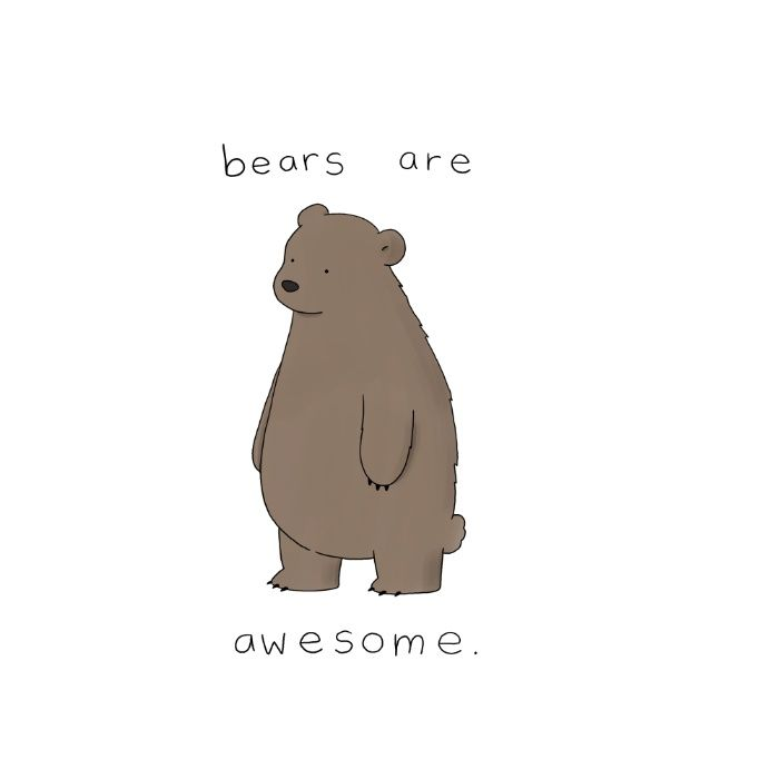 Buy Bears are Awesome  Mug by Liz Climo. Worldwide shipping available at Society6.com. Just one of millions of high quality products available.