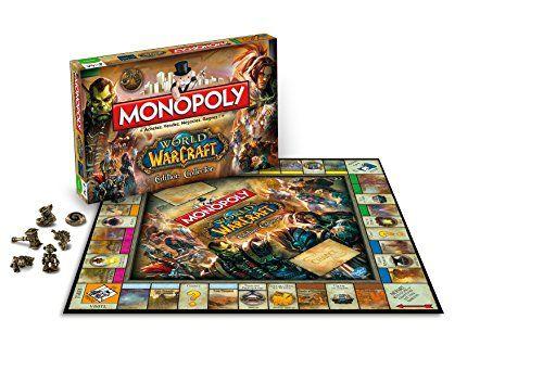 Winning Moves – Jjso0002449 – Jeu De Société – Monopoly – World Of Warcraft: Descriptif produit: Monopoly World of Warcraft - Version…