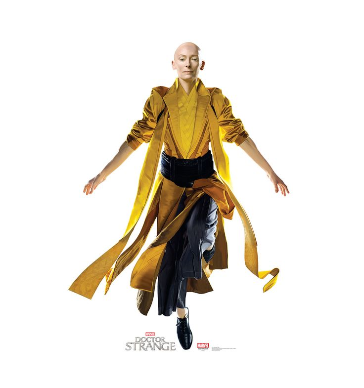 Doctor Strange - Ancient One yellow combat outfit