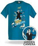 Camiseta Espiã com Câmera Escondida R$200,00