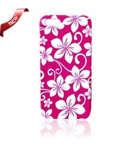 iPhone 5 Cases : Gel Flower Pink