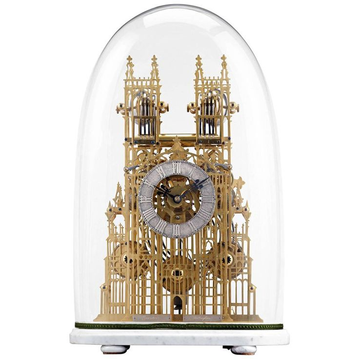 Westminster Abbey Architectural Skeleton Clock