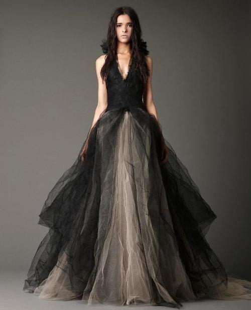 vera wang wedding dress ........ black for my wedding!!!
