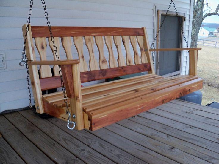 Top 25+ Best Wooden Garden Swing Ideas On Pinterest