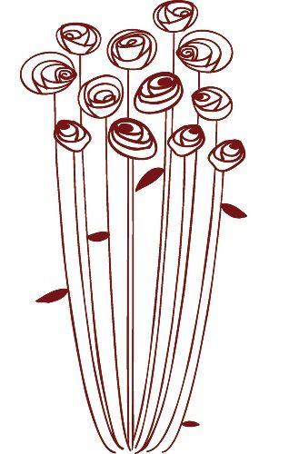 Fleurs stylisées   Dessin fleur, Dessin stylisé