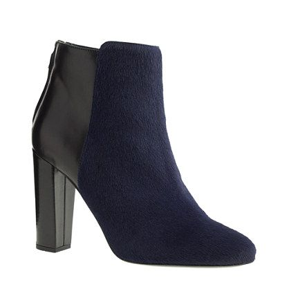 J.Crew - Collection Rory calf hair ankle boots