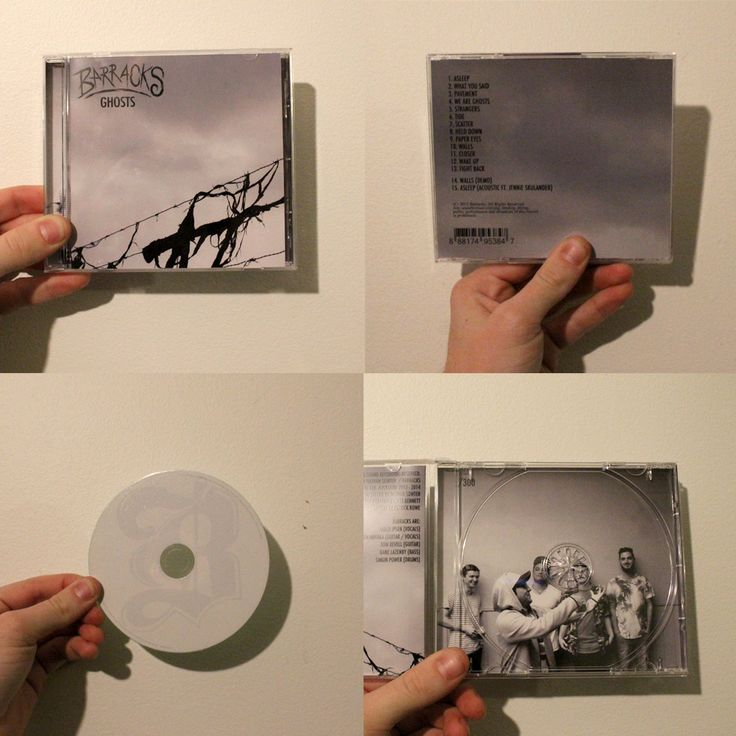 01 – Asleep 02 – What You Said03 – Pavement 04 – We Are Ghosts05 – Strangers06 – Tide07 – Scatter08 – Held Down09 – Paper Eyes10 – Walls11 – Closer12 – Wake Up13 – Fight Back14 - Walls (Demo)15 - Asleep (Acoustic ft. Jennie Skulander)Deluxe version of Ghosts comes with two bonus tracks. All pre-orders come with a signed CD / poster.
