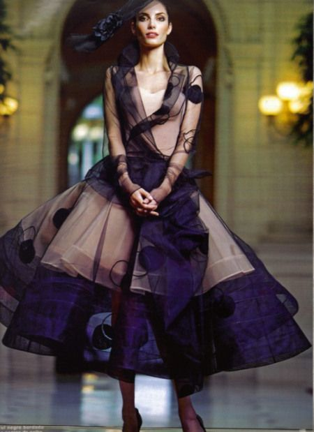 Stunning! ::: Christian Dior Haute Couture 2005
