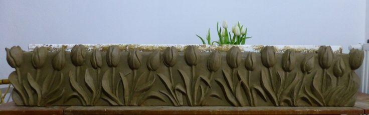 Tulipány - hlína