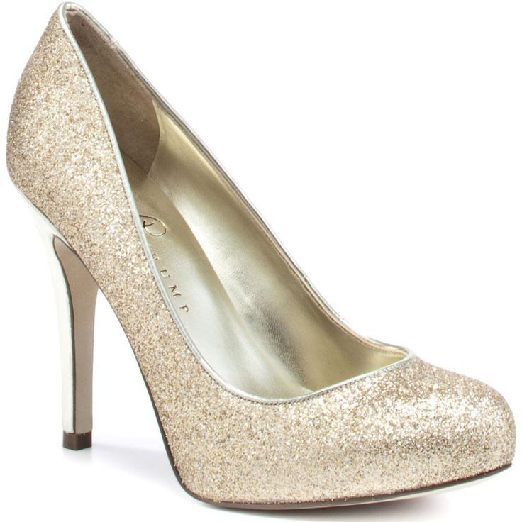 Glittery!Multi Texture, Ivanka Trump, Gold Glitter, Fashion, Style, Pinkie Heels, Gold Multi, Glitter Heels, Gold Shoes