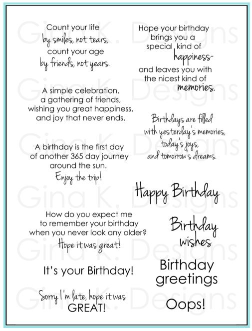 554 best Cards Birthday Sayings images – Birthday Card Sayings