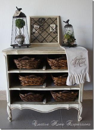 Farmhouse Glam Dresser - Creative Home Expressions