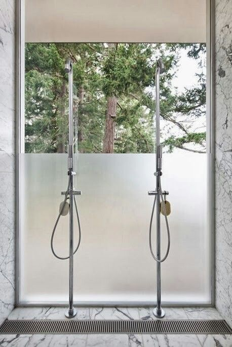 Amazing Shower with a view