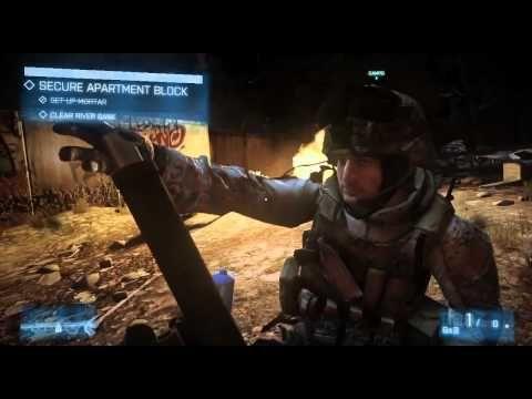 Battlefield 3 Gameplay - Full version Guillotine Trailer