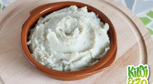 Bloemkoolpuree (vervanging van aardappelpuree)