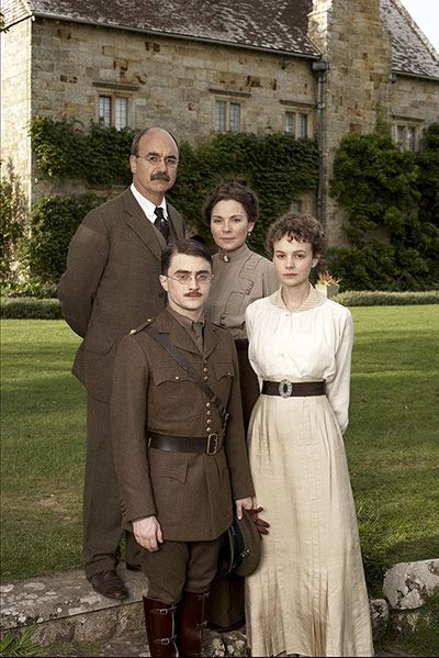 My Boy Jack with David Haig, Daniel Radcliffe, Carey Mulligan and Kim Cattrall in 2007