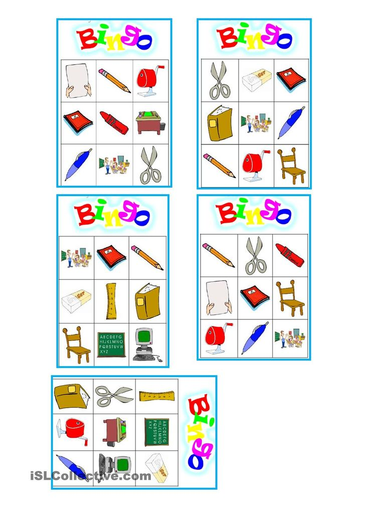 Classroom bingo worksheet - Free ESL printable worksheets ...