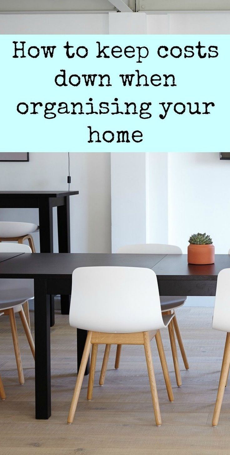How to Keep Costs down When Organising your Home - some great advice on storage decluttering and minimalism in your home perfect for thrifty homes