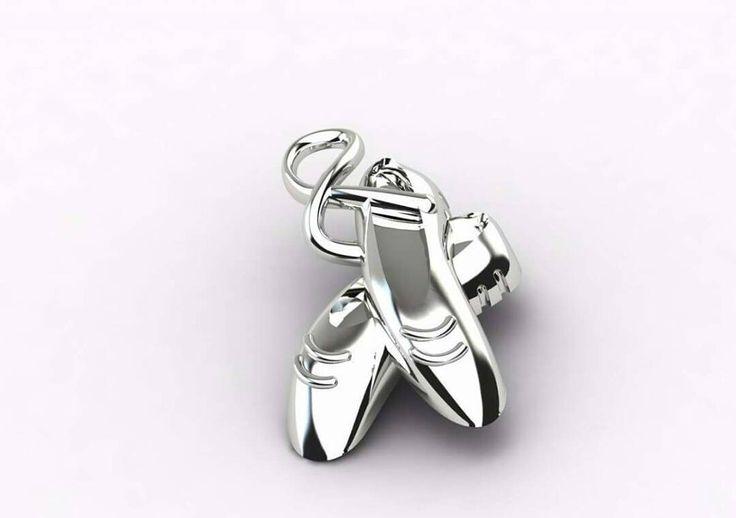 #balla balla #ballerino  Tutta la #notte e al #mattino non fermarti. .... #buonanotte #goodnight #gazzaladra_gioielli #riccione #rimini #romagna #gioielleria #oro #diamanti #madeinitaly #jewels #instajeweller #diamonds #likeforlike #follower #luxury #ciondolo #scarpette #render #disegno #progetto #3d by gazzaladra_gioielli