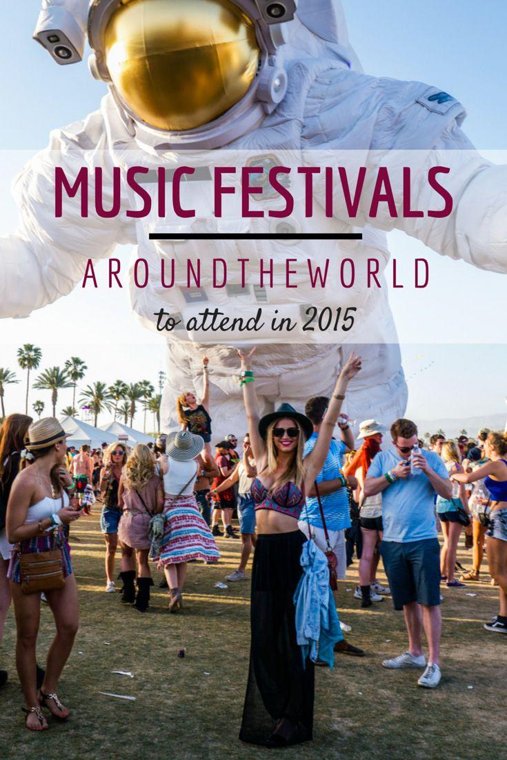 Music Festivals Around the World