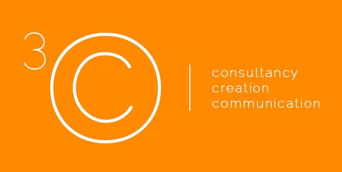 Het nieuwe logo voor 3C Group