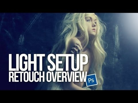 NEW - Light Setup & retouch overview