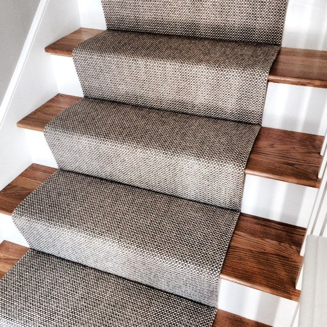 53 best miscellaneous stair runners images on pinterest for Woven carpet for stairs
