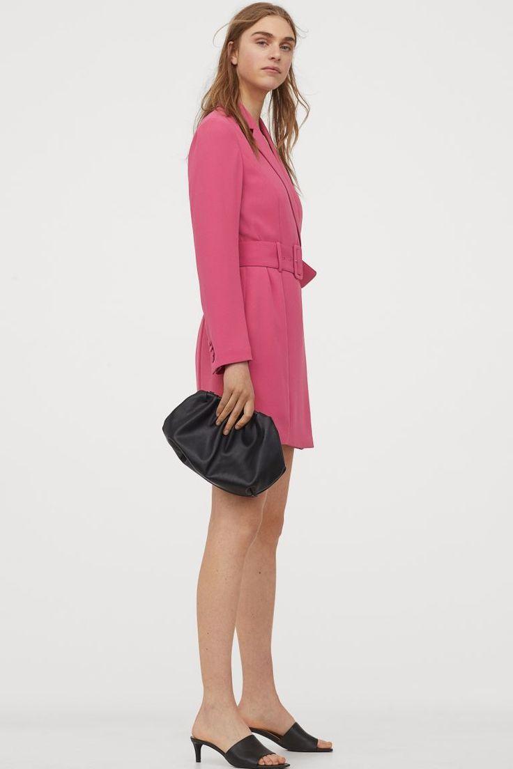 Blazerkleid - Rosa - Ladies   H&M DE in 2020   Blazerkleid ...