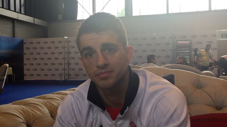 Max Whitlock 31, from Hemel Hempstead. He's is tipped for a medal at Rio 2016