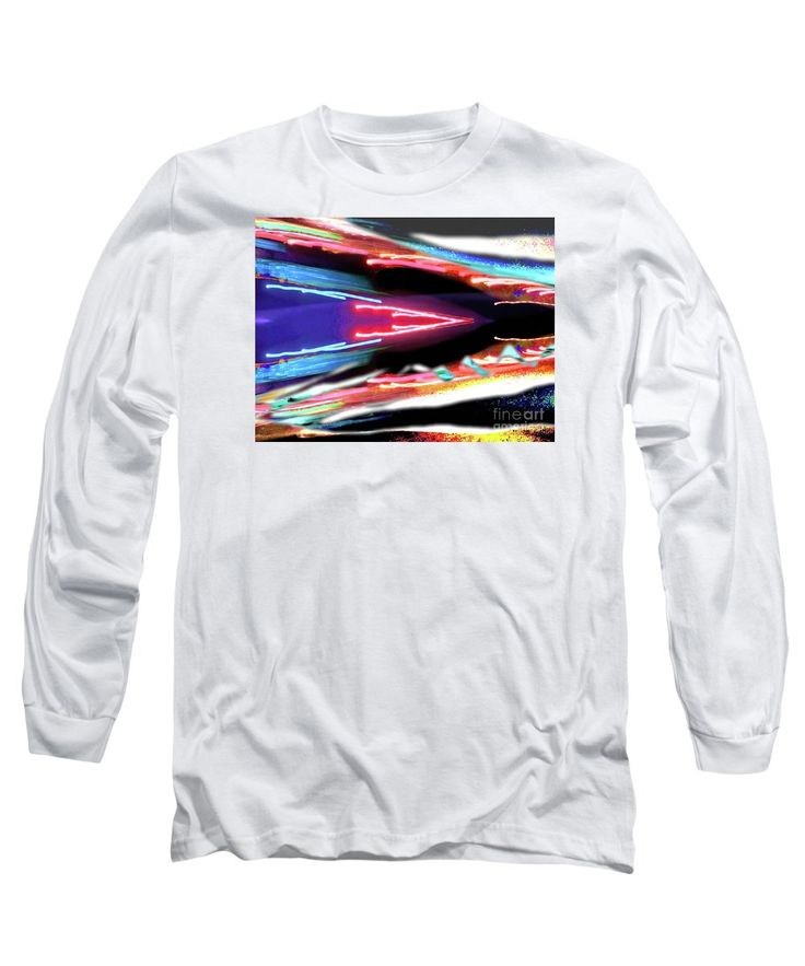 Camera Toss Lights Maniptated . Long Sleeve T-Shirt featuring the photograph Easton V by Expressionistartstudio…