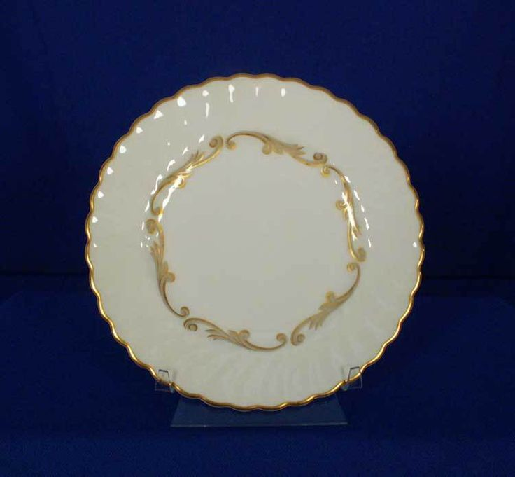 Syracuse USA Old-Ivory Baroque - Gray Pattern Bread & Butter Plate bfe2311 #Syracuse