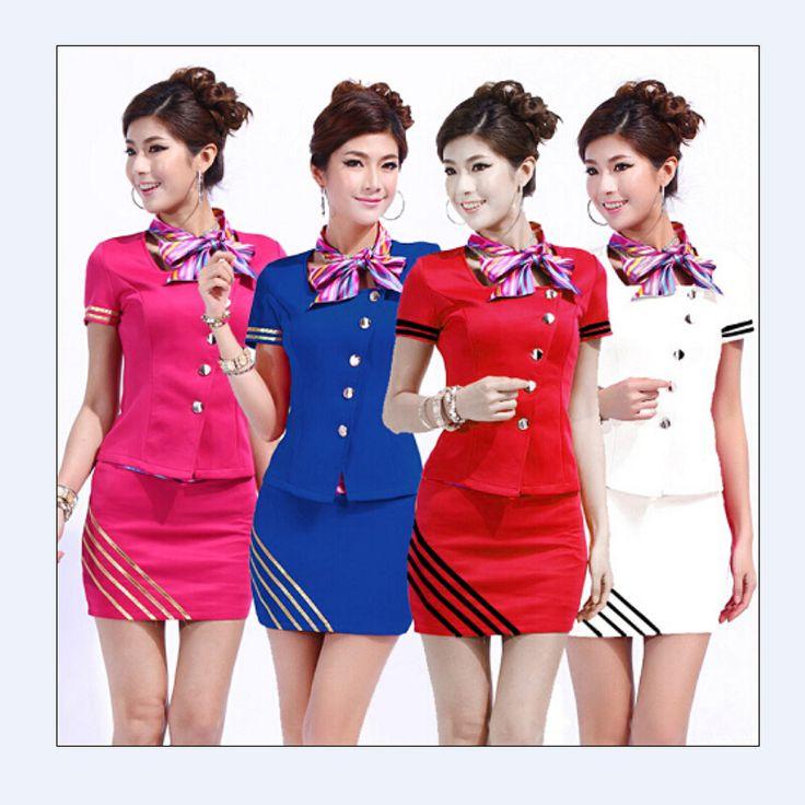 Short-sleeved-women-s-fashion-beautician-beauty-salon-manager-overalls-skirt-font-b-uniform-b-font.jpg (800×800)