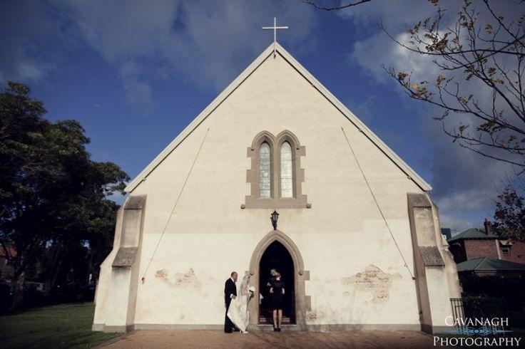 St John's Anglican Church Newcastle wedding. Image: Cavanagh Photography http://cavanaghphotography.com.au
