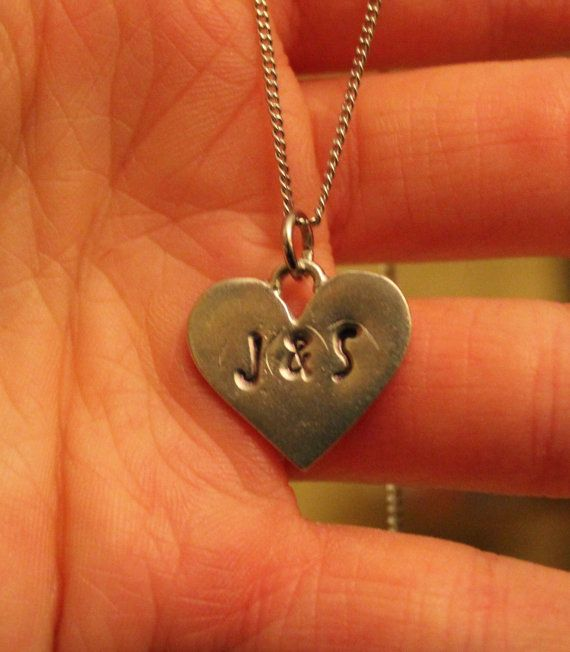 Perfect Valentines Present for a girlfriend. I know I'd love if my boyfriend got me this AHH I'd melt.   Heart Made to Order Necklace/Keychain Gift by GiftsToTheHeart  #ValentinesDay #Anniversary #Boyfriend #GirlfriendPresents