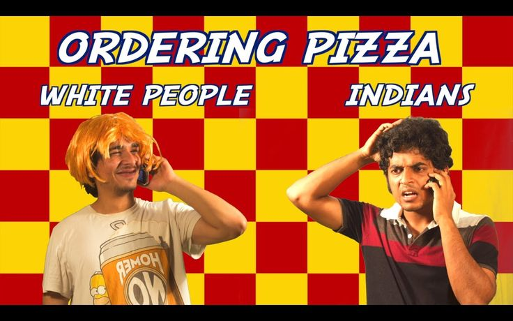 Ordering pizza is quite a task for Indians? This is How Indians Order Pizza!
