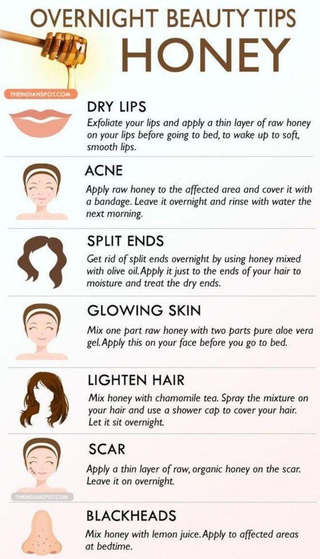Honey for skin problems