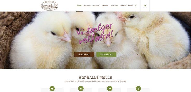Forside -hjemmeside Hopballe Mølle