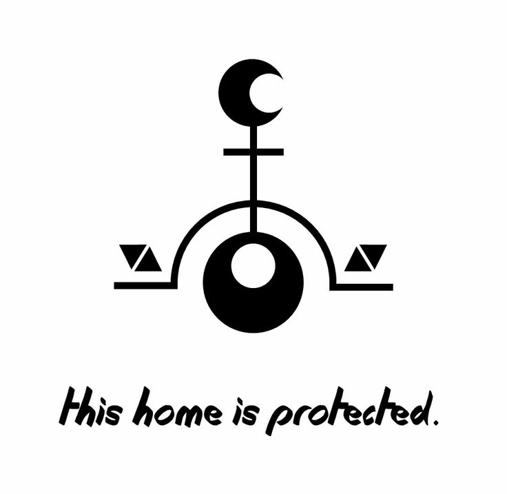 This home is protected. Sigil