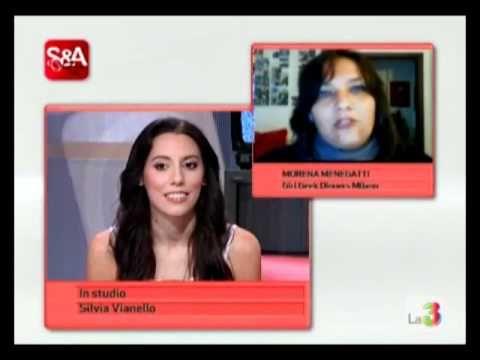 Morena Menegatti a Smart, su La 3 TV, per parlare di Social Networks, istruzioni per l'uso.