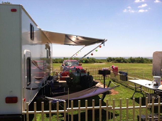 Portable Rv Fencing : Dog fence caravan pinterest children ideas