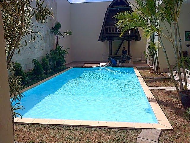Swimming pools Mrs. Andi Nurbani's project, Imam Bonjol, Bali