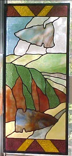 Enjoy a Southwestern artwork in your window!