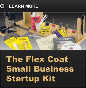Small business start up kit flex coat everything for Fish tagging kit