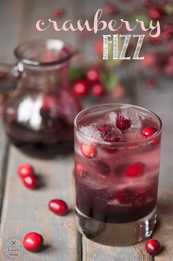 Cranberry Fizz Cocktail Recipe: Cranberry Fizz Cocktail Is Fruity, Tart, And Sparkling