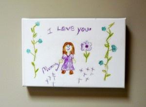 KIds art on canvas ..... Win Your kids art on canvas !!!!,